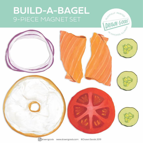 Build-a-Bagel Magnet Set - ModernTribe