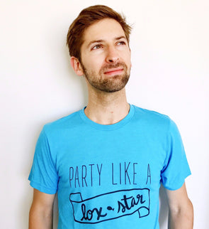 Party Like a Lox Star Unisex T-Shirt