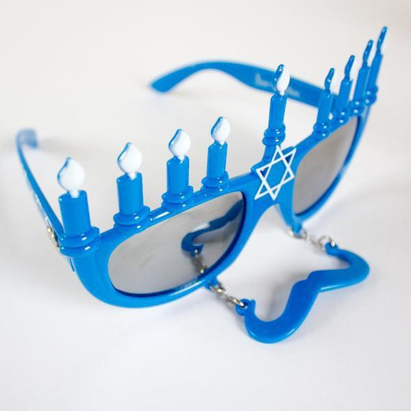 Menorah Sun-Staches Sunglasses