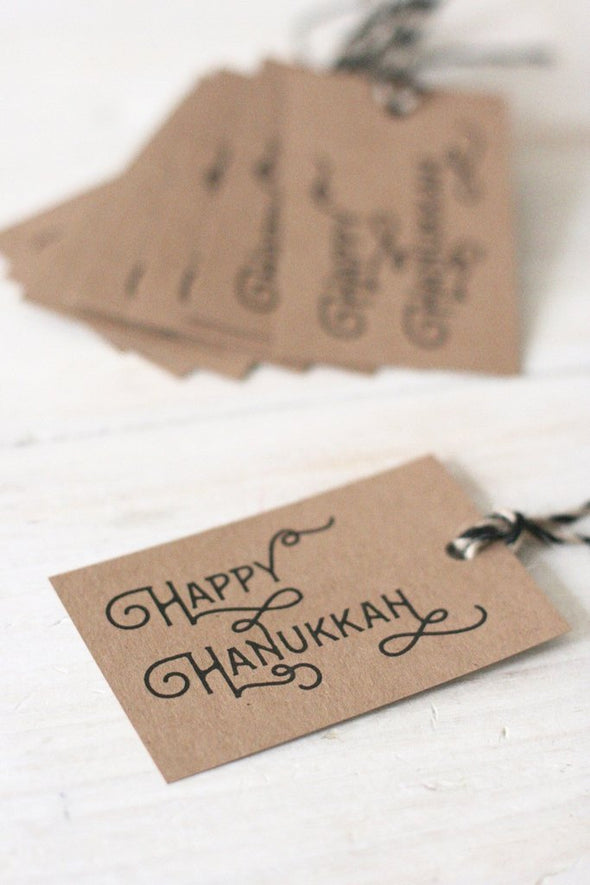 Hanukkah Gift Tags - Set of 8