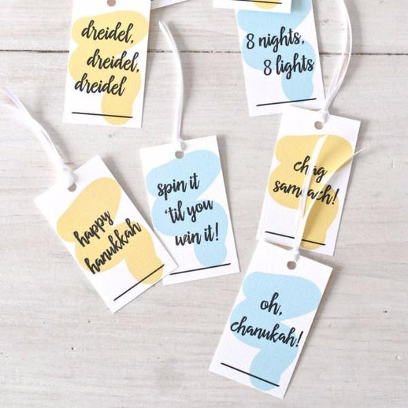 Just Sayin' Hanukkah Gift Tags - Set of 8