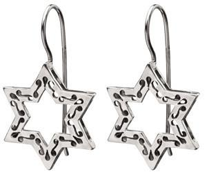 Star of David Whisper Earrings by Neta - ModernTribe