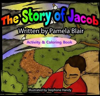 eyeseeme Book The Story of Jacob Activity & Coloring Book