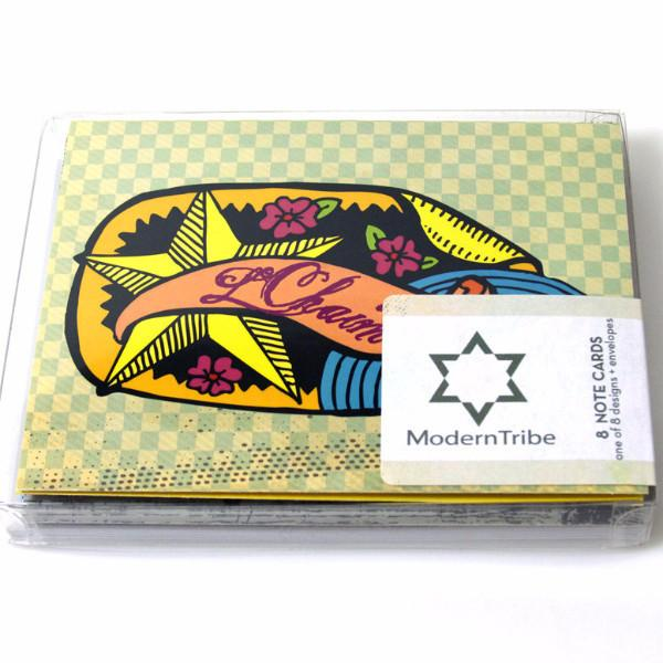 ModernTribe Card Jewy Notecards by ModernTribe - Set of 8