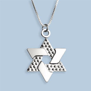 Integrated Star of David Necklace
