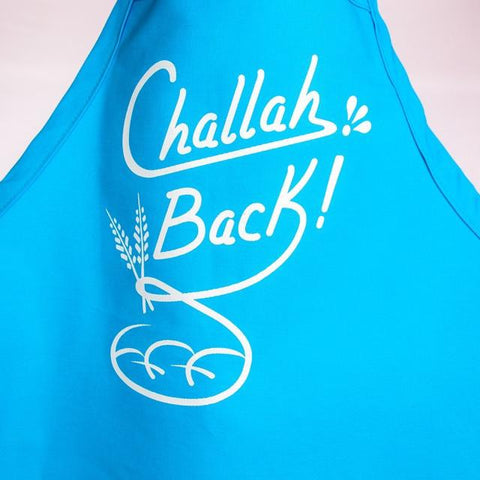 Challah Back Apron - Turquoise