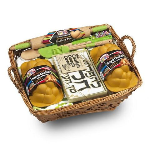 Challah Maven or Mensch Gift Basket by Kosher Cook - ModernTribe