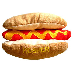 Plush Dog Toy - Kosher Hotdog by Copa Judaica - ModernTribe