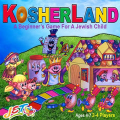 KosherLand Board Game - Ages 4 to 7 by JET - ModernTribe