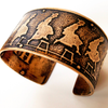 Leap of Faith Bronze Cuff Bracelet by Marla Studio by Marla Studio - ModernTribe - 1