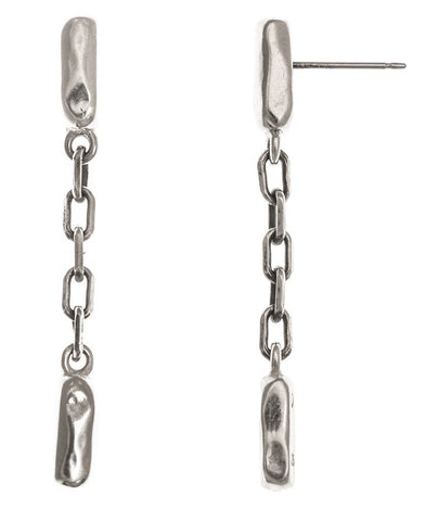 Line Drop Earrings in Sterling Silver by Marla Studio by Marla Studio - ModernTribe - 1