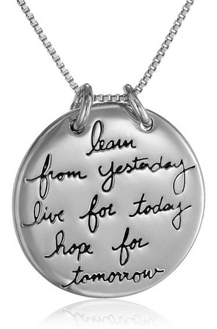 Live The Life You Love Necklace by Other - ModernTribe