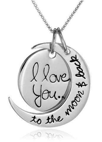 Love You To The Moon & Back Necklace by Other - ModernTribe