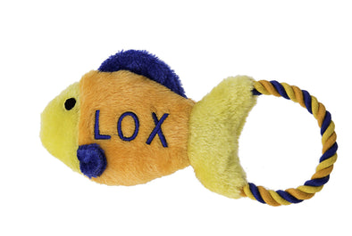 Lox Tug Jewish Dog Toy