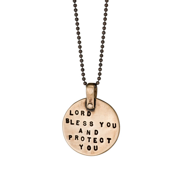 Lord Bless You And Protect You Necklace by Marla Studio by Marla Studio - ModernTribe - 4