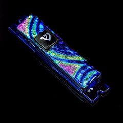 Metallic Glass Mezuzah