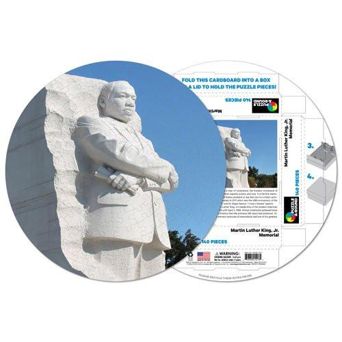 Pigment & Hue Puzzle Martin Luther King Jr. Memorial Puzzle