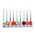 Zion Judaica Menorahs Default Donut Hand-Painted Menorah
