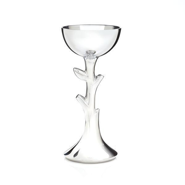 Nambé Kiddush Cup Tree of Life Kiddush Cup by Nambé