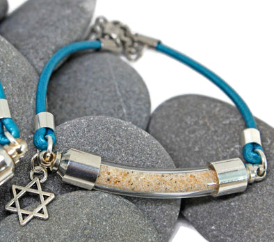 My Tribe by Sea Ranch Jewelry Bracelets Israel Sand Star of David Bracelet