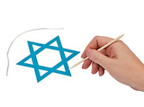 Magic Scratch Star of David - Ages 3 to 9 by Fun Express - ModernTribe - 2