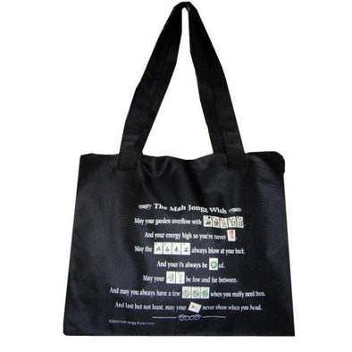 Mah Jongg Wish Tote Bag