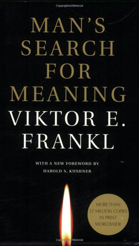 Man's Search For Meaning by Viktor E. Frankl by Baker & Taylor - ModernTribe