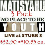 Matisyahu 3 Pack: NPTB, Youth, Stubbs by Other - ModernTribe - 1