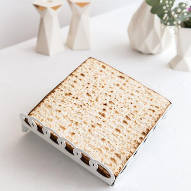 Elevated Ring Matzah Tray/ Fruit Tray