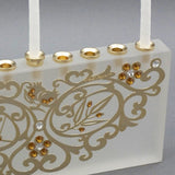 Anat Mayer 7-Species Crystal Menorah by Anat Mayer - ModernTribe - 1