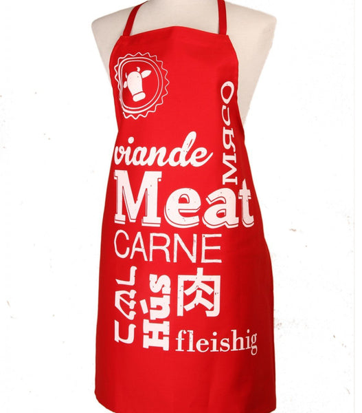 Barbara Shaw Aprons Red Meat Apron