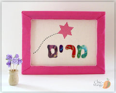 Personalized Hebrew Name Wall Art by Shikma Benmelech by Chic Mango - ModernTribe - 1