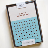 Happy Hanukkah Dots Cards - Set of 8