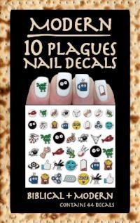 Modern 10 Plagues Nail Decals