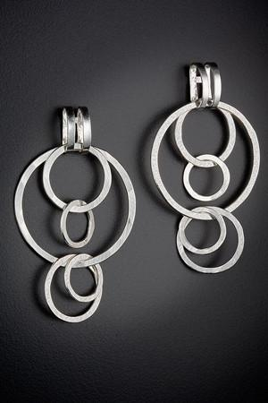 Multiple Circles Earrings by Uncommon Threads by Uncommon Threads - ModernTribe