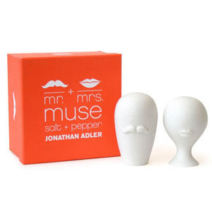 Mr. & Mrs. Muse Salt and Pepper Shakers by Jonathan Adler by Jonathan Adler - ModernTribe - 1