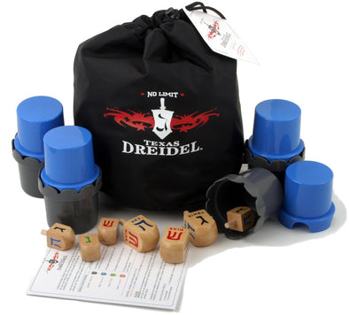 No Limit Texas Dreidel Game - Ages 9 to 99 by ModernTribe - ModernTribe - 1