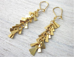 Nina Earrings in Gold by Shlomit Ofir - ModernTribe - 1