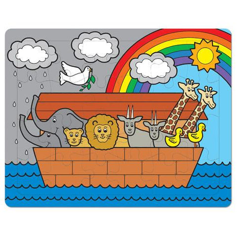 Noah's Ark Puzzle - Ages 3+ by Pigment & Hue - ModernTribe