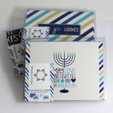 ModernTribe's Light, Joy, Latkes Hanukkah Cards - Set of 8 by ModernTribe - ModernTribe - 5