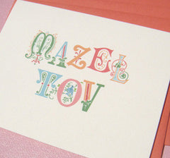 Mazel Tov Ornate Greeting Card by Seltzer Goods - ModernTribe