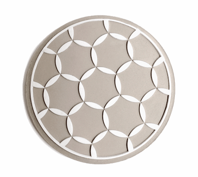 Concrete Seder Plate/ Apple Plate by ceMMent
