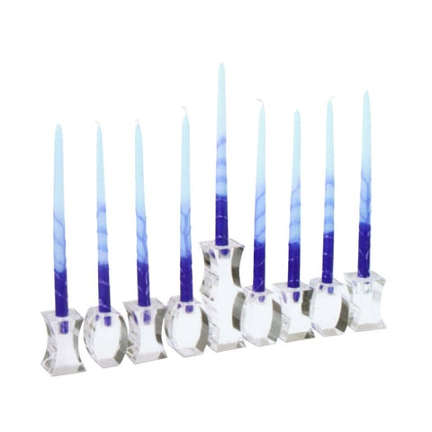Flexus Menorah - Glass Modular Menorah by Museum of Modern Art - ModernTribe - 1