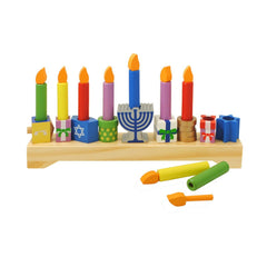 Wooden Play Menorah by KidKraft - Ages 3+ by Kid Kraft - ModernTribe - 1