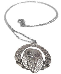 Polli Owl Hoot Pendant Necklace by Polli - ModernTribe