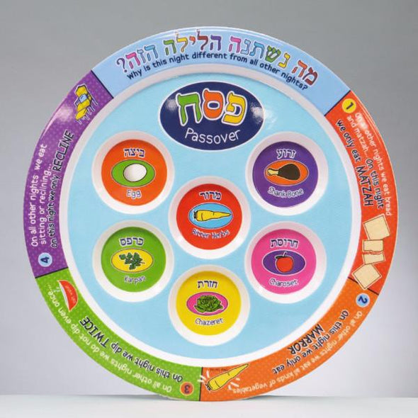 Kid Friendly Seder Plate by Rite Lite - ModernTribe