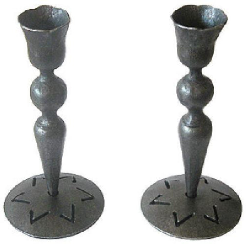 Iron Sabbath Candle Holders by Blackthorne Forge - ModernTribe
