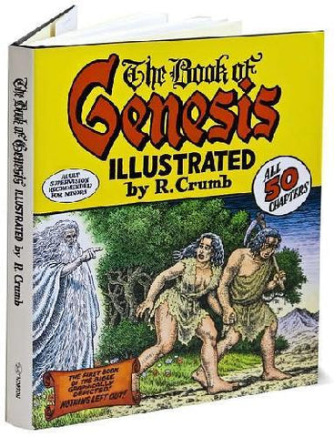 R. Crumb Illustrates The Book of Genesis by Baker & Taylor - ModernTribe - 1