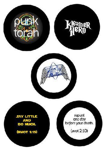 Ultimate Jewish Button Pack by PunkTorah - ModernTribe
