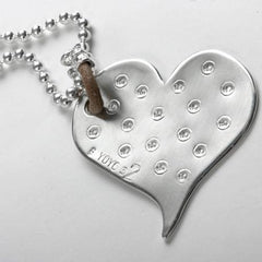 Big Heart Pendant Necklace by YOYO32 by YOYO32 - ModernTribe